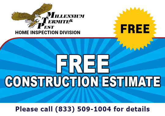 Free Construction Estimate - Call For Details